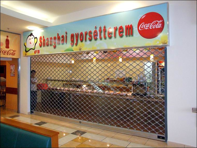 Rács referencia - Shanghai gyorsétterem